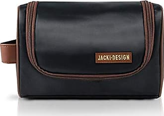 Jacki Design Necessaire Masculina com Alça Lateral Jacki Design AHL17210 - Preto/Marrom