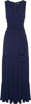 Iorane Vestido Longo Com Faixa Iorane - Azul