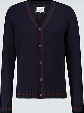 Maison Margiela Knitted wool cardigan