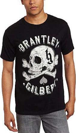 Jack of all Trades Mens CBGB /& OMFUG Skull Kiss 3//4 Sleeve Burnout Raglan