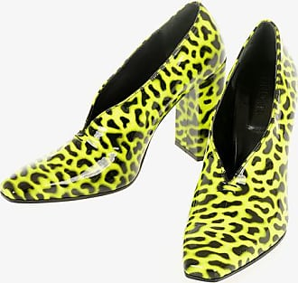 Drome Animal Printed Leather Booties 11 cm size 40