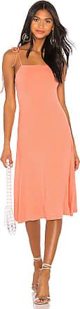 Privacy Please Nikko Midi Dress in Orange