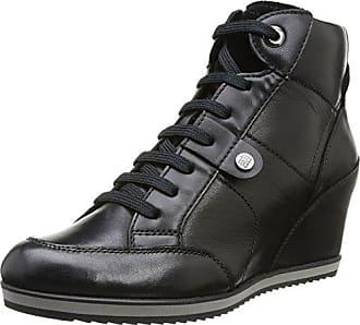 987fc0c1d8 Geox D Illusion, Sneakers Hautes Femme, Schwarz (BLACKC9999), 40 EU