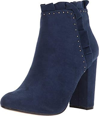 xoxo Womens Yarissa Boot, Navy, 9 M US