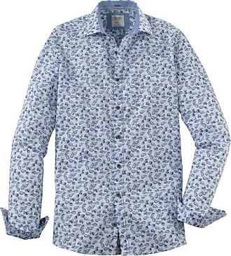 Olymp Level Five Casual Hemd, body fit, Kent, Weiß, XL