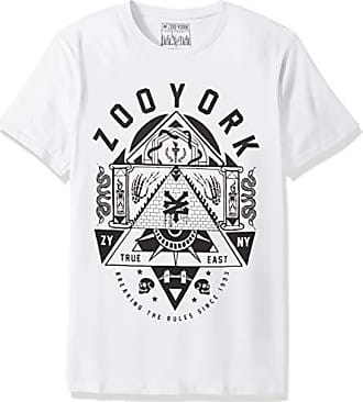 Zoo York Mens Short Sleeve Crew Neck Shirt, Obscurity White, X-Large