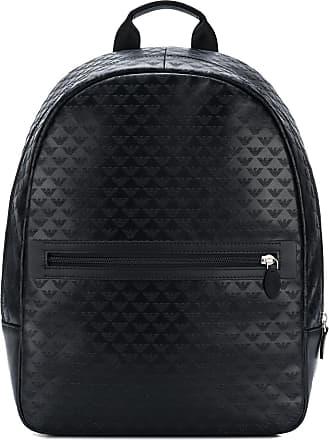 fef9a3f90dcb Emporio Armani regular shape backpack - Black