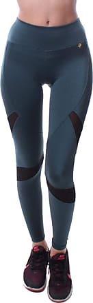 Simony Calça Simony Lingerie Legging Fitness Atlanta com Detalhe Tule Power