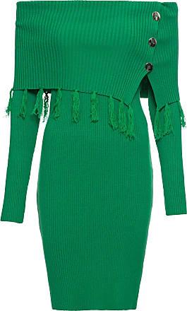 BODYFLIRT boutique Dam Stickad klänning med singoallaringning i grön lång  ärm - BODYFLIRT boutique 2c05c28c326d4