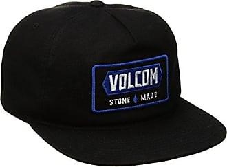 Volcom Mens Shop Five Panel Hat, BLK, O/S