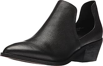 Chinese Laundry Womens Focus Ankle Bootie, Black Leather, 10 M US