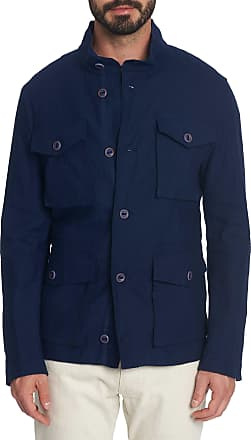 Robert Graham Mens Harley Jacket In Navy Size: 2XL by Robert Graham