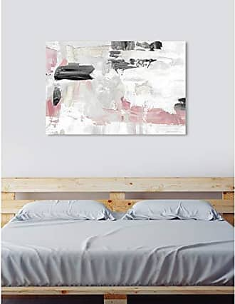 The Oliver Gal Artist Co. The Oliver Gal Artist Co. Abstract Wall Art Canvas Prints Blush Rose Dream Home Décor, 60 x 40, White, Pink