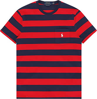Ralph Lauren Polo ralph lauren T-shirts CRUISE RED/NEWPORT NAVY XL
