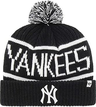 47 Brand New York Yankees Calgary Cuff Knit Beanie - Black