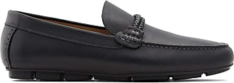 Aldo Mens Casual Loafers, FILDES, Size 10, Black Smooth