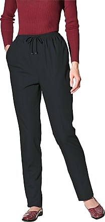 Chums Ladies Womens Thermal Lined Trousers Black 22W x 27L
