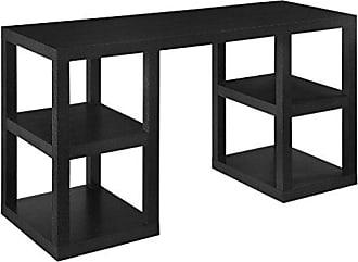 Dorel Home Products Ameriwood Home Deluxe Parsons Desk, Black Oak