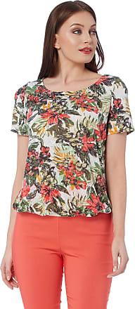 Ladies Women Roman Originals Star Print Short Sleeve Stripe T-Shirt Tee Top