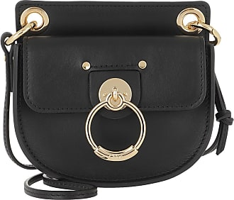 Chloé Cross Body Bags - Tess Microbag Calf Leather Black - black - Cross Body Bags for ladies