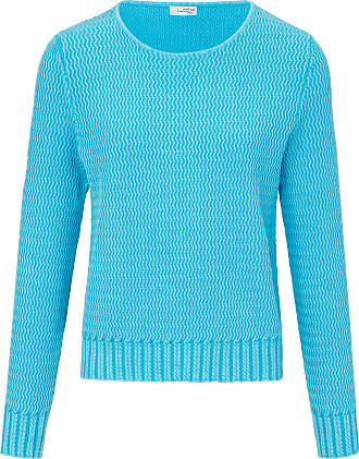 Looxent Round neck jumper long sleeves Looxent turquoise