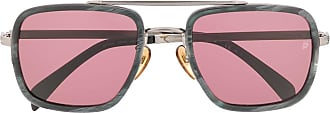 David Beckham Óculos de sol quadrado - Rosa