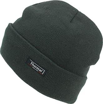 Hawkins Thinsulate Fine Knit Beanie Hat - Brown