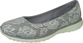 Skechers Microburst Earthy Touch Womens Slip on Shoes/Ballet Pumps-Lavender-3.5