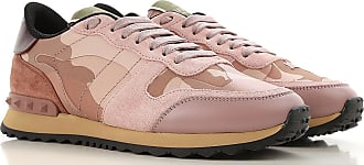 Valentino Sneakers for Women On Sale, Old Rose, Leather, 2017, 10