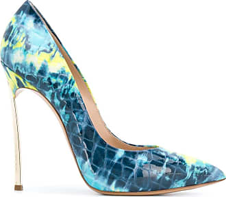 Casadei tie-dye print pumps - Blue