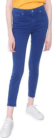 Tommy Jeans Calça Sarja Tommy Jeans Skinny Lisa Azul