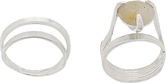 Wouters & Hendrix My Favourites rutilated quartz stone ring - SILVER
