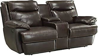 Coaster Fine Furniture Macpherson Power Loveseat with Storage and USB Charging Ports Espresso
