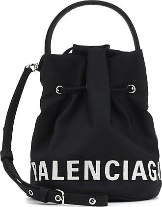 Balenciaga Bucket-Bag Wheel XS aus Canvas