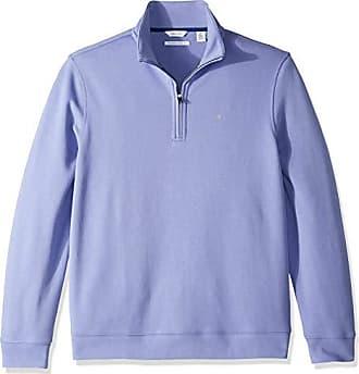 357676475064c Calvin Klein Mens Classic Quarter Zip Sweater