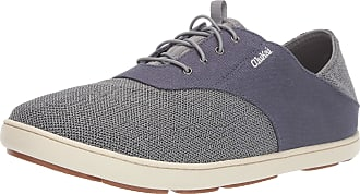 Olukai Mens Nohea Moku Shoes, Tradewind Grey/Cloud Grey (TW2N), Size 10