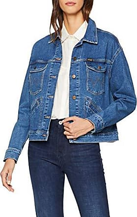 Wrangler Cropped Jacket Giacca di Jeans Donna Donna