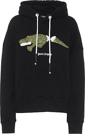 Palm Angels Logo cotton hoodie