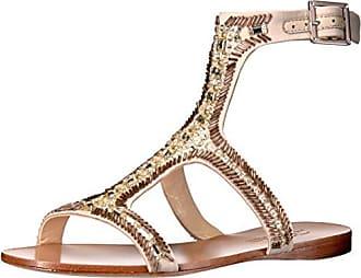 Imagine Vince Camuto Womens Im-Reid Dress Sandal, Light Sand, 5.5 M US