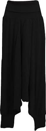 Enna Sultanhose aus Bio-Baumwolljersey, schwarz