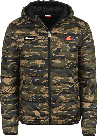 Ellesse Lombardy Padded Jacket Camo Size L