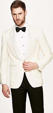 Hackett Mens Chelsea Shawl Blazer | Size 38Regular | Cream