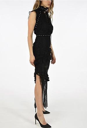 Just Cavalli Maxi Dress with Ruffles size 42