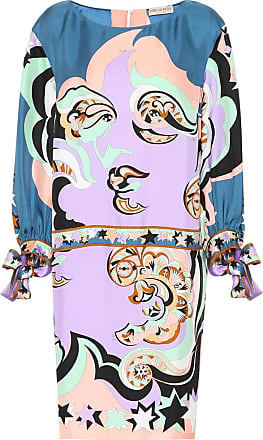 Emilio Pucci Printed silk dress