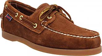 f5f42a99a58a Sebago Chaussures bateaux SEBAGO Docksides velours Homme Cognac