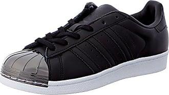 new arrival ea355 116d3 adidas Damen Superstar Metal Toe W BY2883 Sneaker, Schwarz (Black, 36 2