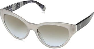 58dc49395c Prada 0PR08SS UFH4S2 55 Gafas de Sol, (Opal Beige Blue Light Brown),