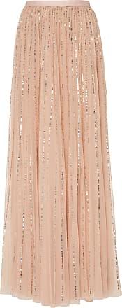 Needle & Thread Sequined Tulle Maxi Skirt