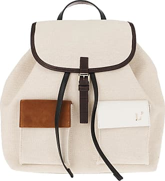 L'autre Chose Backpacks - Canvas Backpack Beige - beige - Backpacks for ladies