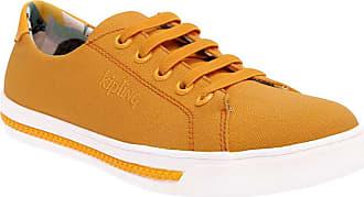 Kipling Tênis Kipling Cadarço Básico Amarelo - 34